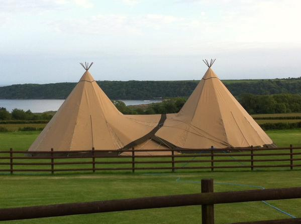 two tipi gower